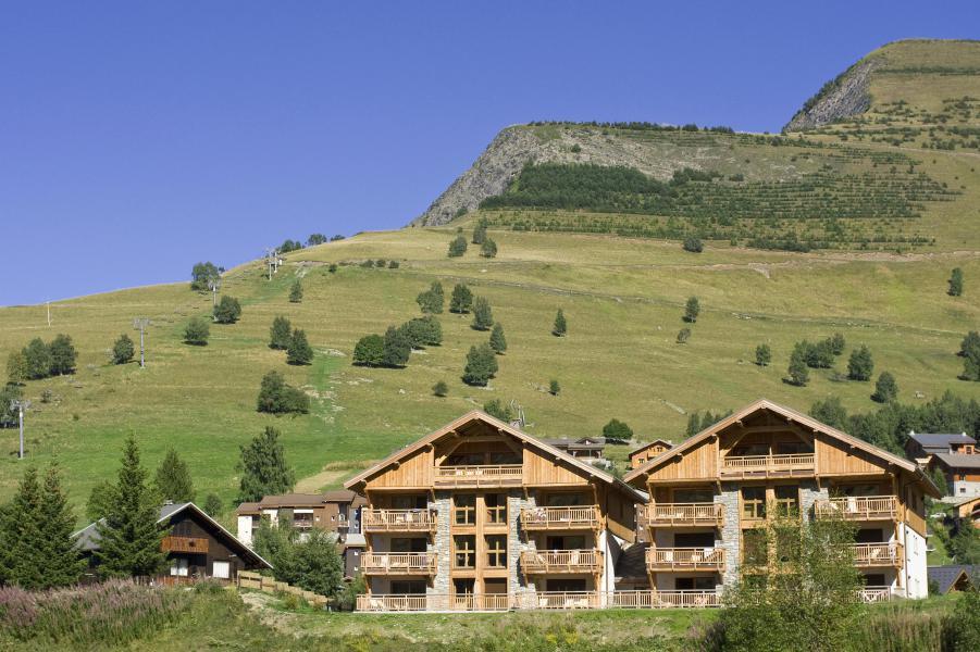Location au ski Résidence le Goléon - Les 2 Alpes - Extérieur été
