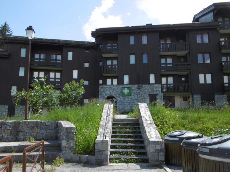 Location au ski Residence Le Gollet - Valmorel - Extérieur été
