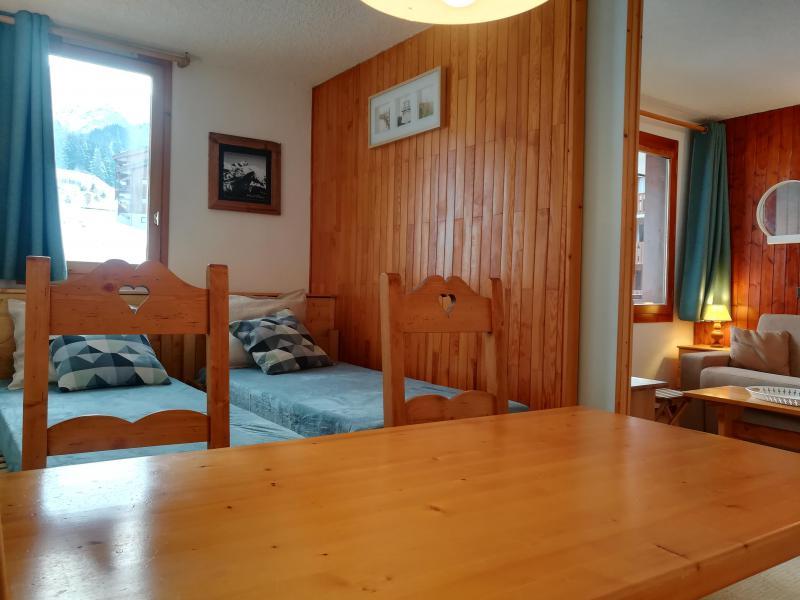 Vacances en montagne Studio 4 personnes (037) - Résidence le Gollet - Valmorel - Table