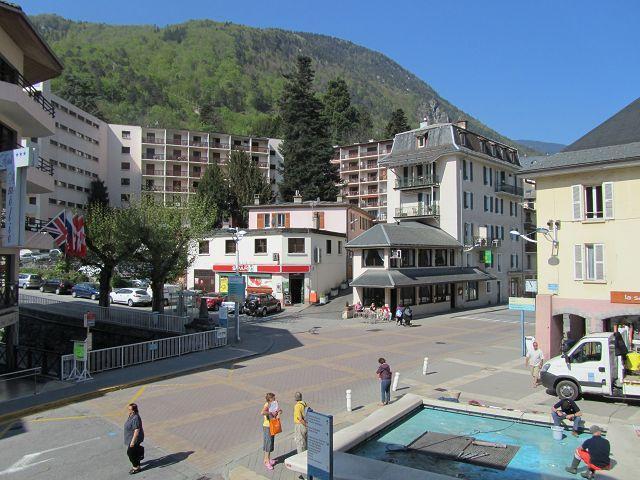 Аренда на лыжном курорте Квартира студия для 4 чел. (102) - Résidence le Grand Chalet - Brides Les Bains - летом под открытым небом