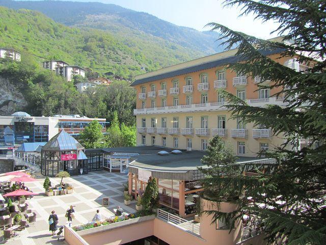 Vacances en montagne Studio 2 personnes (212) - Résidence le Grand Chalet - Brides Les Bains