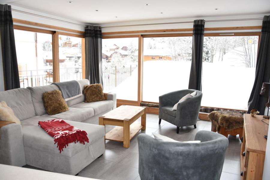 Vacaciones en montaña Apartamento 4 piezas para 6 personas (24) - Résidence le Grand Chalet - Pralognan-la-Vanoise - Estancia