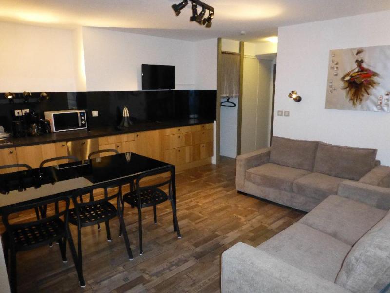 Vacances en montagne Appartement 2 pièces alcôve 6 personnes (116) - Résidence le Grand Chalet - Brides Les Bains - Coin séjour