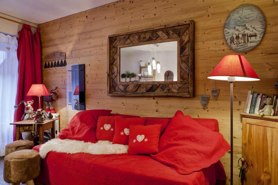 Vacances en montagne Studio coin montagne 4 personnes (204) - Résidence le Grand Chalet - Brides Les Bains - Logement