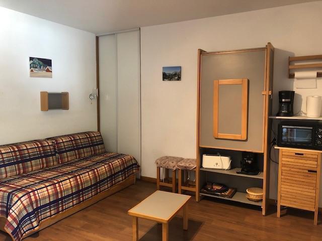 Vacances en montagne Studio coin montagne 4 personnes (417) - Résidence le Grand Chalet - Brides Les Bains - Plaques de cuisson