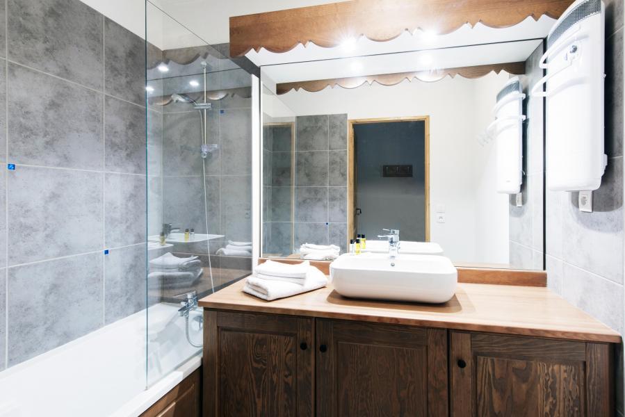 Urlaub in den Bergen Résidence le Grand Ermitage - Châtel - Badezimmer