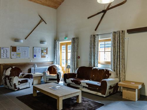 Vacances en montagne Residence Le Grand Lodge - Chatel - Réception