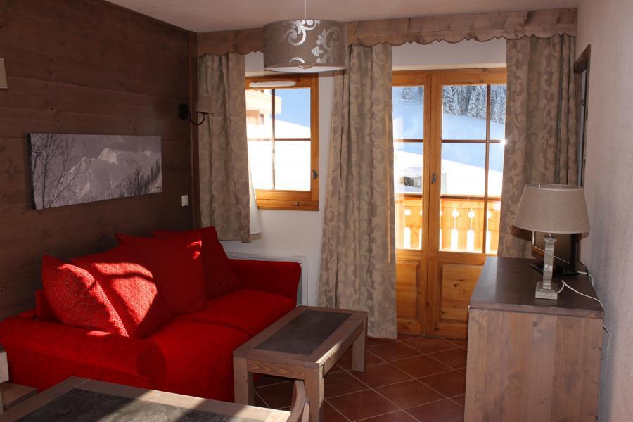 Vacances en montagne Residence Le Grand Lodge - Châtel - Coin séjour