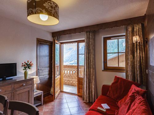 Vacances en montagne Residence Le Grand Lodge - Chatel - Séjour