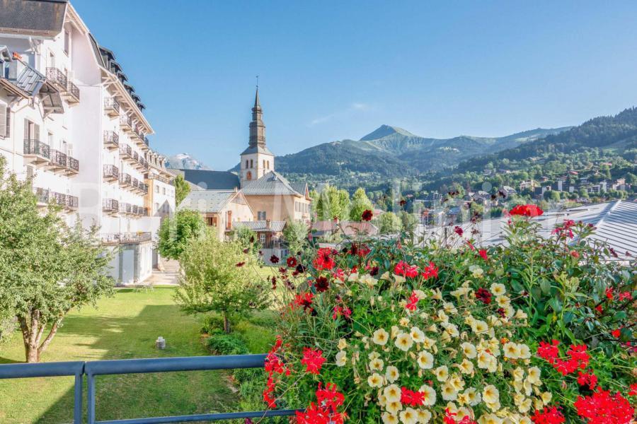 Urlaub in den Bergen Résidence le Grand Panorama - Saint Gervais - Draußen im Sommer