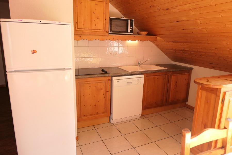 Urlaub in den Bergen 2-Zimmer-Holzhütte für 6 Personen (504) - Résidence le Grand Panorama - Saint Gervais