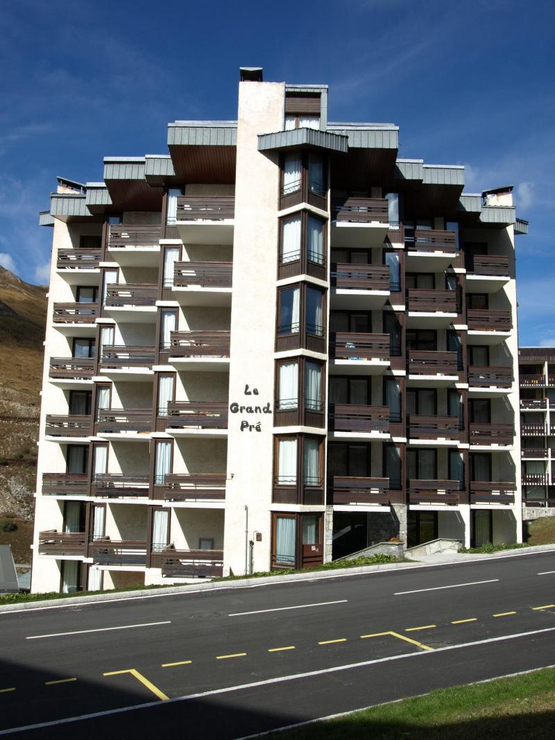 Location au ski Résidence le Grand Pré - Tignes - Extérieur été