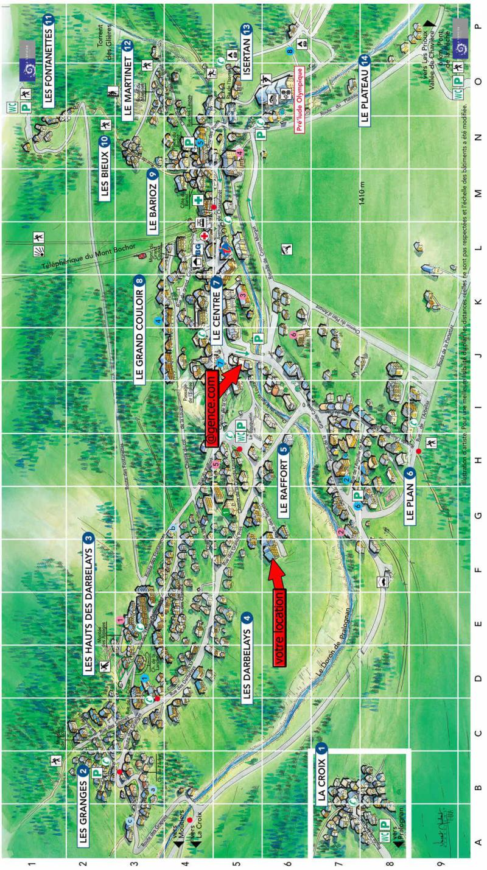 Vacaciones en montaña Résidence le Grand Sud - Pralognan-la-Vanoise - Plano