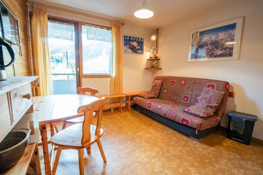Vacances en montagne Studio coin montagne 4 personnes (NO34GV) - Résidence le Grand Vallon - La Norma - Séjour