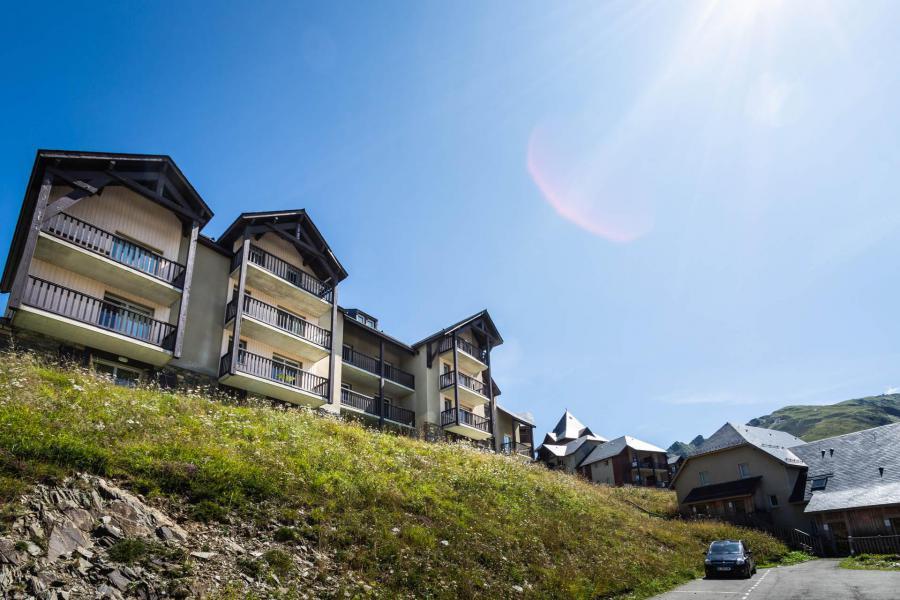 Location au ski Résidence le Hameau de Balestas - Peyragudes - Extérieur été
