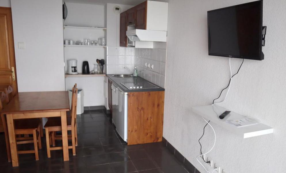 Wakacje w górach Apartament 2 pokojowy 4 osób (ABELLANS.A301) - Résidence le Hameau de Balestas - Peyragudes - Aneks kuchenny