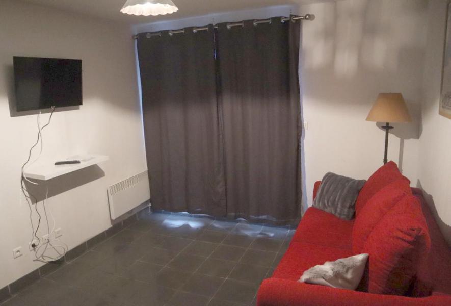 Wakacje w górach Apartament 2 pokojowy 4 osób (ABELLANS.A301) - Résidence le Hameau de Balestas - Peyragudes - Pokój gościnny