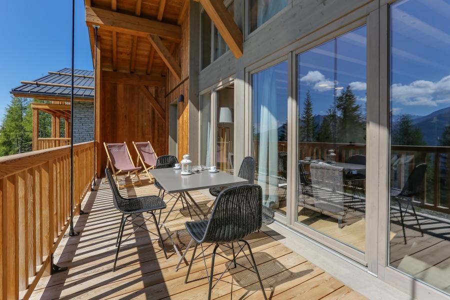 Location au ski Résidence le Hameau de Barthélémy - La Rosière - Extérieur été