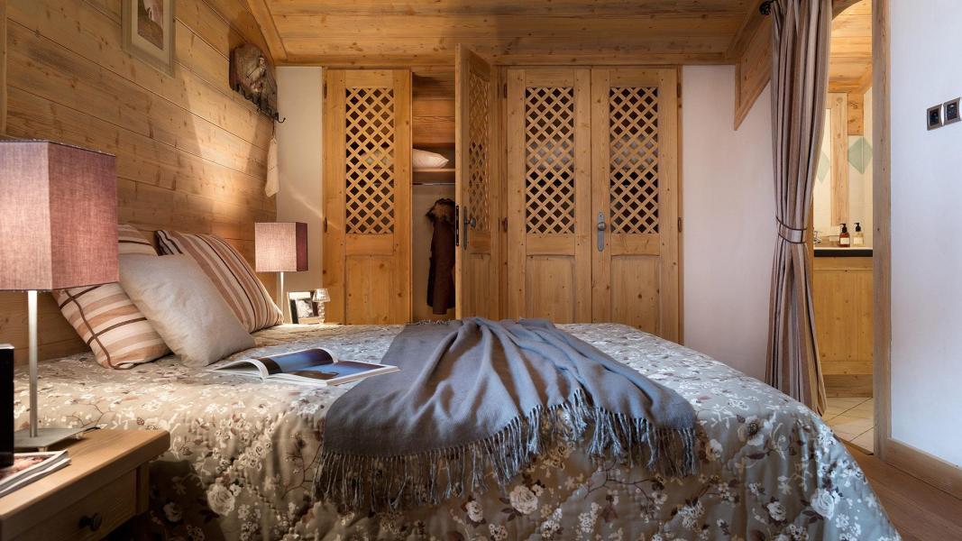 Urlaub in den Bergen Résidence le Hameau de Pierre Blanche - Les Houches - Schlafzimmer