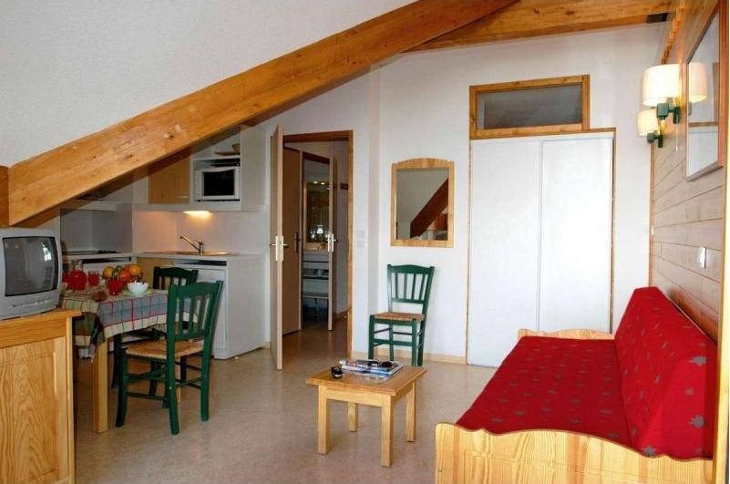 Holiday in mountain resort Résidence le Hameau de Saint-François - Saint-François Longchamp - Bench seat