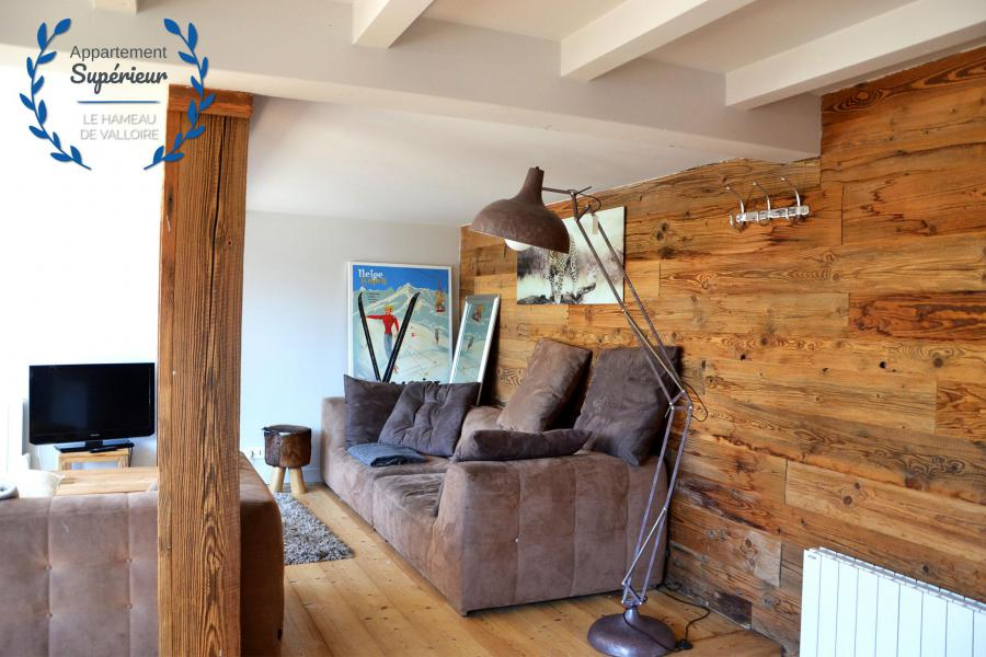 Holiday in mountain resort 4 room apartment 7 people (superior) - Résidence le Hameau de Valloire - Valloire - Living room