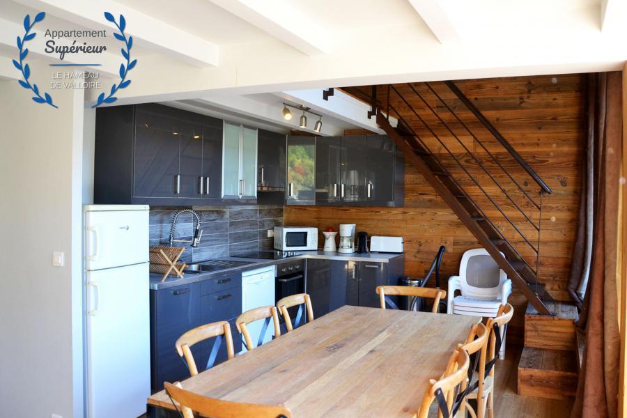 Vacances en montagne Appartement 4 pièces 7 personnes (supérieur) - Résidence le Hameau de Valloire - Valloire - Cuisine
