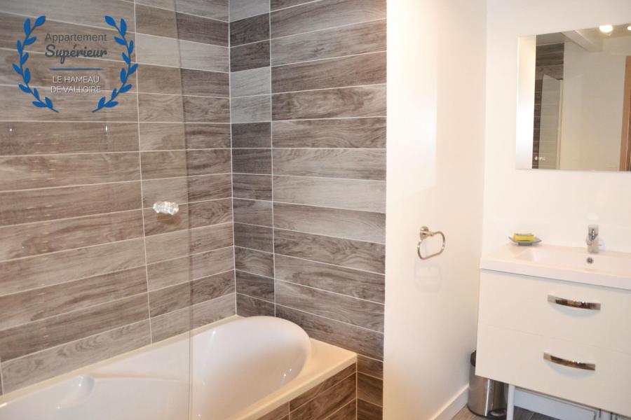 Vacances en montagne Appartement 4 pièces 7 personnes (supérieur) - Résidence le Hameau de Valloire - Valloire - Salle de bains