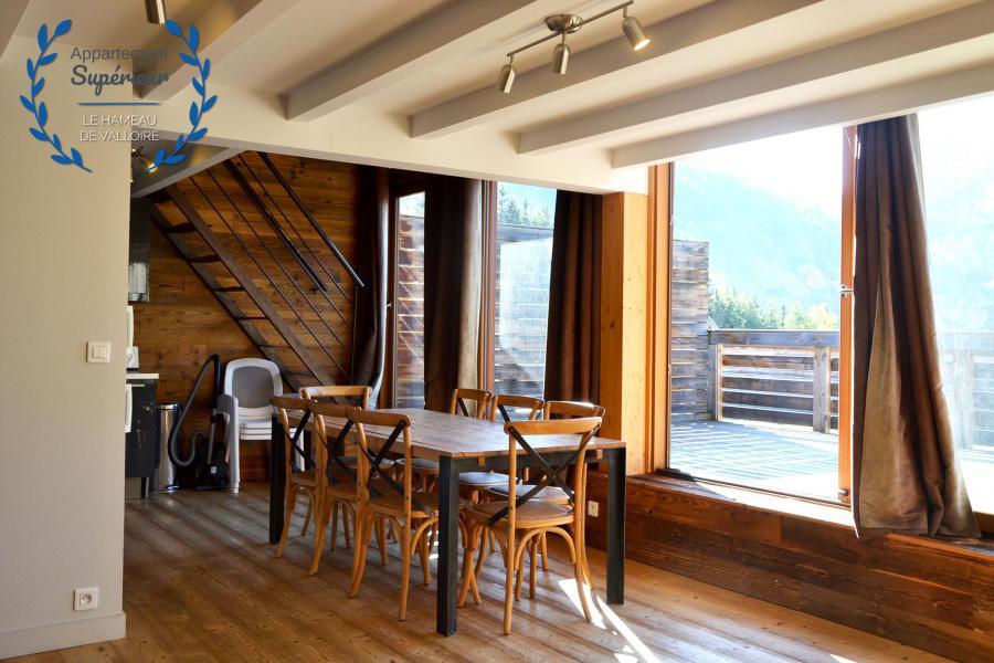 Vacances en montagne Appartement 4 pièces 7 personnes (supérieur) - Résidence le Hameau de Valloire - Valloire - Séjour