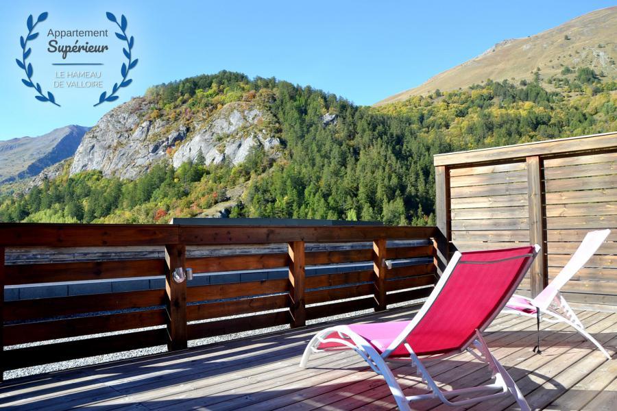 Vacances en montagne Appartement 5 pièces 8 personnes (supérieur) - Résidence le Hameau de Valloire - Valloire - Balcon