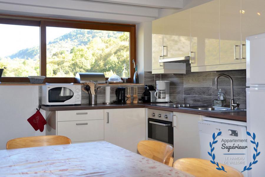Vacances en montagne Appartement 5 pièces 8 personnes (supérieur) - Résidence le Hameau de Valloire - Valloire - Cuisine