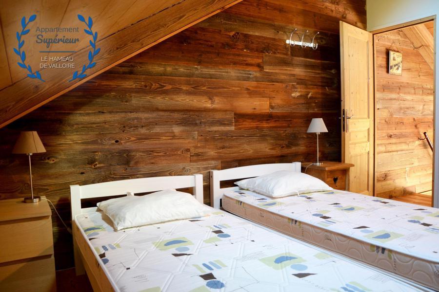 Vacances en montagne Appartement 5 pièces 8 personnes (supérieur) - Résidence le Hameau de Valloire - Valloire - Lits twin