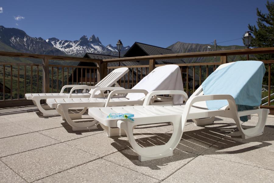 Location au ski Résidence le Hameau des Aiguilles - Albiez Montrond - Extérieur été