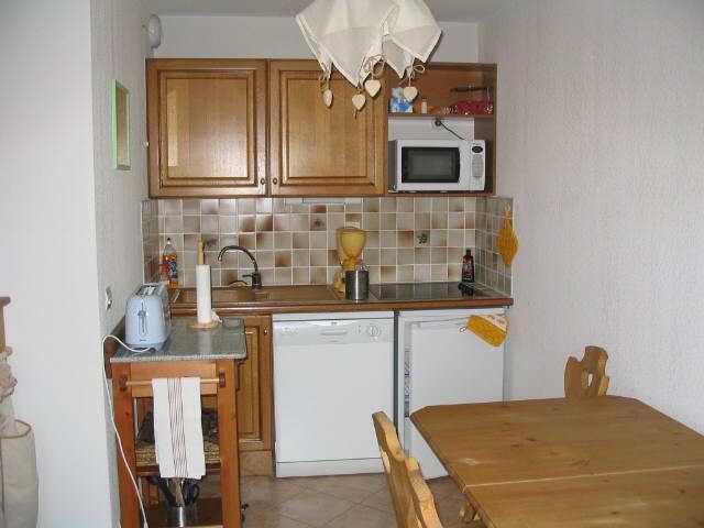 Vacaciones en montaña Apartamento cabina 2 piezas para 4 personas (114) - Résidence le Hameau des Neiges - Praz sur Arly - Kitchenette