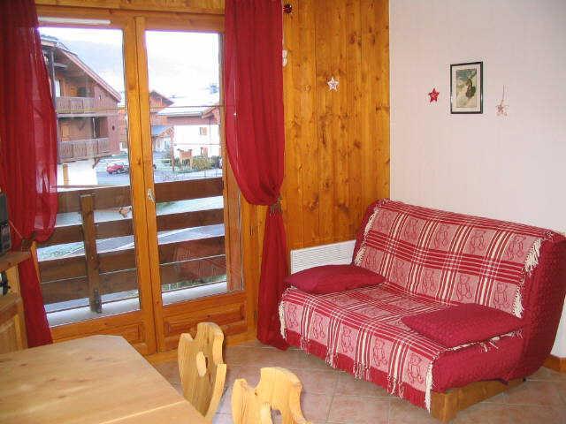 Vacaciones en montaña Apartamento cabina 2 piezas para 4 personas (114) - Résidence le Hameau des Neiges - Praz sur Arly - Sofá-cama
