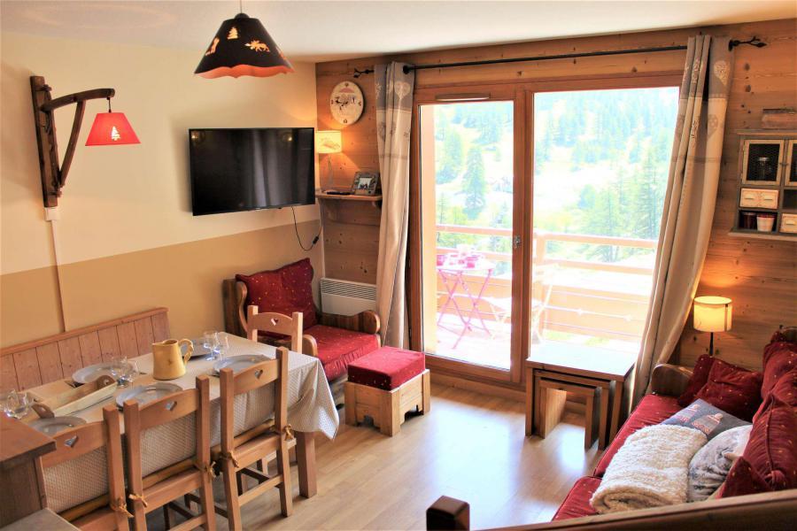 Wakacje w górach Apartament duplex 3 pokojowy 6 osób (051) - Résidence le Hameau des Rennes - Vars - Kanapą