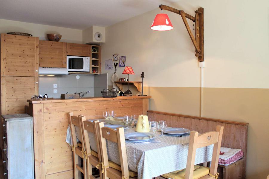 Wakacje w górach Apartament duplex 3 pokojowy 6 osób (051) - Résidence le Hameau des Rennes - Vars - Pokój gościnny