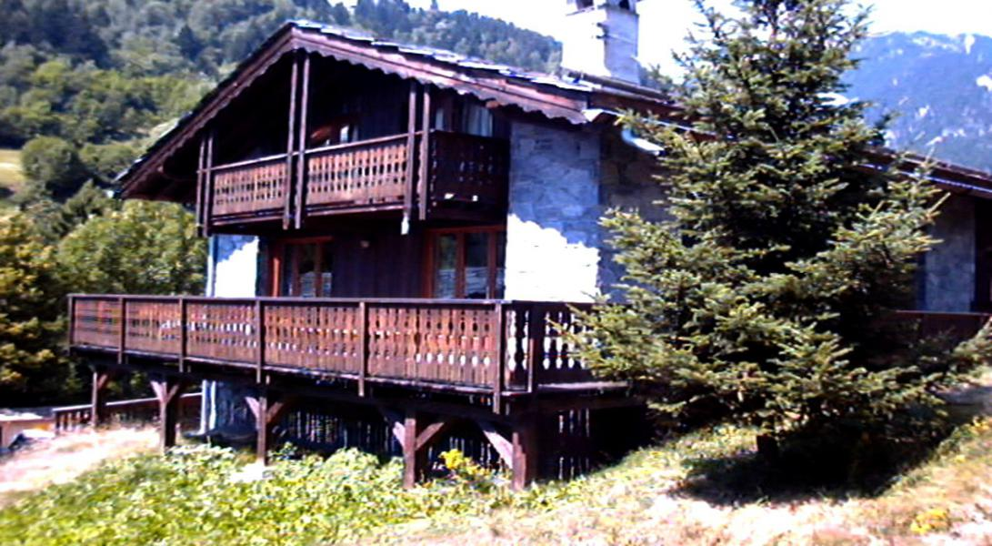 Location au ski Résidence le Hameau des Rochers - Champagny-en-Vanoise - Extérieur été