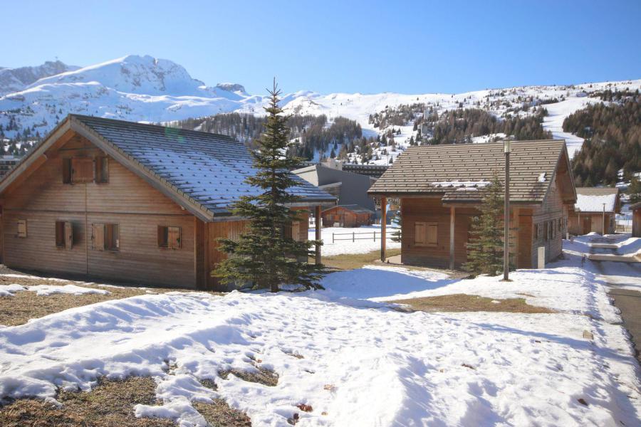 Vacances en montagne Chalet mitoyen 3 pièces 6 personnes (M2) - Résidence le Hameau du Puy - Superdévoluy