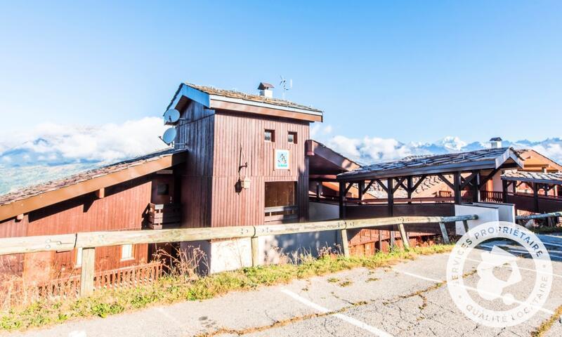 Vacances en montagne Appartement 2 pièces 6 personnes (Confort 33m²) - Résidence le Hameau du Sauget - Maeva Home - Montchavin La Plagne - Extérieur été