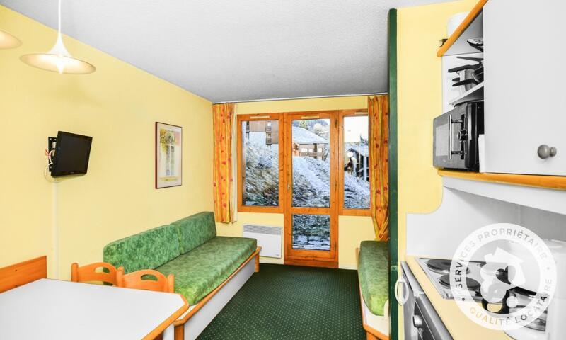 Vacances en montagne Appartement 2 pièces 5 personnes (Budget 22m²) - Résidence le Hameau du Sauget - Maeva Home - Montchavin La Plagne - Extérieur été