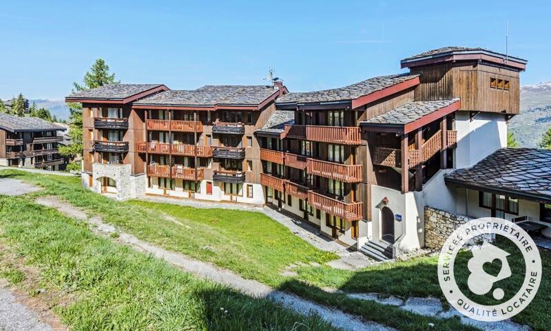 Vacances en montagne Studio 4 personnes (Confort 22m²) - Résidence le Hameau du Sauget - Maeva Home - Montchavin La Plagne - Extérieur été