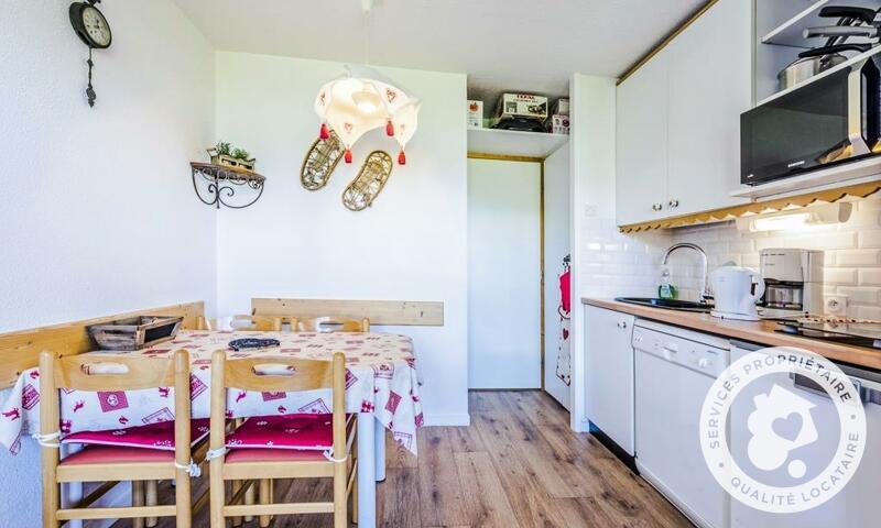 Vacances en montagne Studio 4 personnes (Sélection ) - Résidence le Hameau du Sauget - Maeva Home - Montchavin La Plagne - Extérieur été