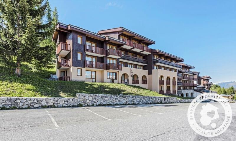 Vacances en montagne Appartement 2 pièces 4 personnes (Confort 22m²) - Résidence le Hameau du Sauget - Maeva Home - Montchavin La Plagne - Extérieur été