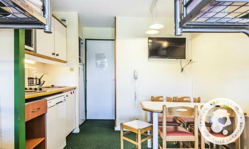 Vacances en montagne Studio 5 personnes (Confort 27m²) - Résidence le Hameau du Sauget - Maeva Home - Montchavin La Plagne - Extérieur été