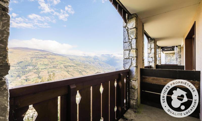 Vacances en montagne Studio 4 personnes (Confort 28m²) - Résidence le Hameau du Sauget - Maeva Home - Montchavin La Plagne - Extérieur été