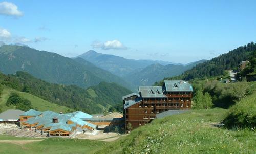 Location au ski Residence Le Haut Couserans - Guzet - Extérieur été