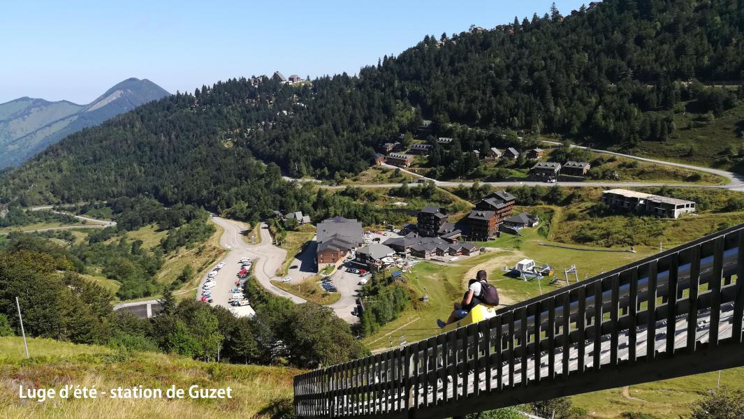 Location au ski Résidence le Haut Couserans - Guzet - Extérieur été