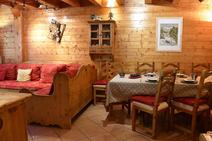 Vacances en montagne Appartement duplex 4 pièces 8 personnes (11) - Résidence le Jardin  d'Eden - Méribel - Séjour