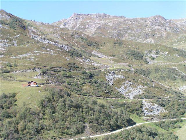 Vacances en montagne Résidence le Jettay - Les Menuires - Extérieur été