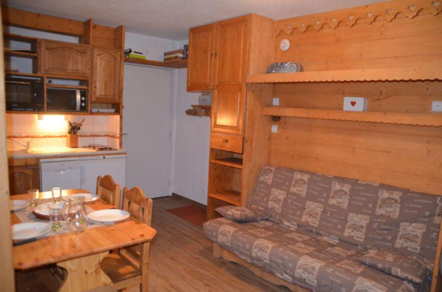 Vacances en montagne Appartement 1 pièces 4 personnes (B77) - Résidence le Jettay - Les Menuires - Séjour